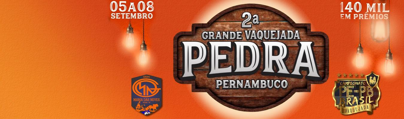 Vaquejada de Pedra - Campeonato PE/PB